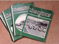MotorSport magazines. 21 in total , dating from January 1961 - March 1970.