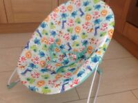Bright stars baby bouncer . Used for 1 week only . Exellent condition
