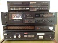 Marantz, Sony, Yamaha and Toshiba 80's Hi-Fi Seperates