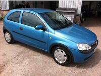vauxhall corsa 1.2 16v for sale 10 months m.o.t