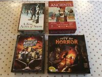 Board Games [Few Acres Of Snow, City of Horror, The Manhattan Project, Command and Colours Ancients]