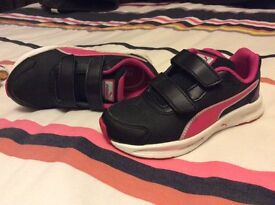 Puma girls trainers size 11