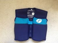 Brand new, un-used 1-2 year old swim flotation vest for sale.