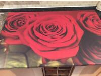 Gorgeous Large Rose Canvas Picture