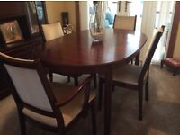 Good quality dining tables & chairs & Nest of Tables