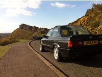 1990 E30 BMW 318iS COUPE 140 BHP (BABY M3) BLACK LIMITED EDITION DUAL FUEL