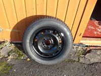 Brand new 185 60 14 tyre and rim
