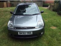FORD FIESTA 16 GHIA 52 REG. VERY GOOD CONDITION 78 K.. SERVICE HISTORY