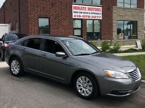 GORGEOUS 2012 CHRYSLER 200 LX 97,000 KM $8,999 SOLD CERTIFIED