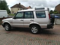 Clean low mileage discovery TD5 many new parts recently fitted, owned car for over 10 years