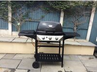 Deluxe gas barbecue