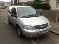 7 seat people carrier in very good condition with low miles for year