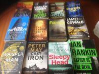 12 books Ian rankin Peter may James Paterson etc