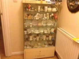 Caithness display cabinet with lights
