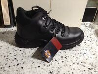 DICKIES STEEL TOE CAPPED BOOTS