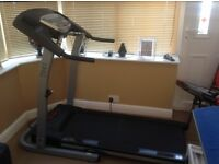 Treadmill for that all important home gym that you require safety cut of switch.