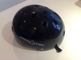 Protec Gloss Black Skate/Bike Helmet size M