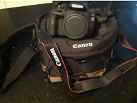 Brand new digital camera for sale Canon Eos 100d plus 18-55 and 75-300 kit double zoom