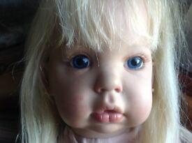 Reborn toddler size doll