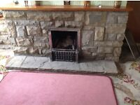 Yorkshire stone fireplace large plenty of reusable stone