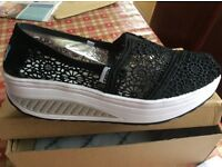 Wedge trainers/ shoes brand new!