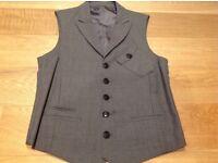 Men's Grey Waistcoat - Vintage & Unique Style - JK Herford