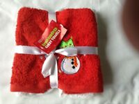 M&S Xmas towels