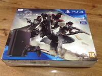 Sony PlayStation 4 Slim 500 GB - 1 Controller, 1 game, all leads, box, good condition like new