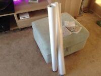 Kitchen worktop support legs