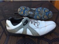 Footjoy AQL Golf Shoes - size 11 - soft spikes VGC - bargain at £20