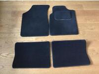 Full set of car mats for Renault Clio
