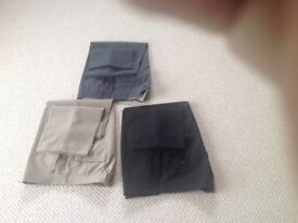 3 pairs men's trousers