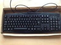 ACER SK 1688 WIRED KEYBOARD + PCLINE WIRED OPTICAL MOUSE.