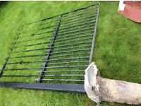 Iron fence free for collection 55inchx79height