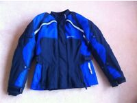 Ladies motorcycle jacket fit size 10