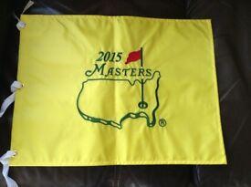 Master's Golf Flag