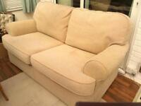 2 seater sofa bed matching chair