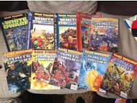 Games workshop White Dwarf magazine bundle