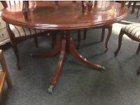 Vintage mahogany ding table