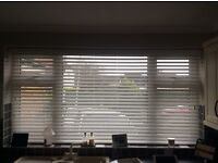 New window blinds in faux wood