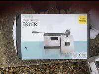 Tesco Stainless Steel Fryer
