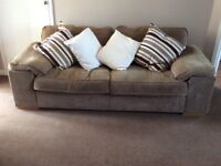 URGENT SALE of Two 3 seater sofas in excellent condition move forces sale must go quickly