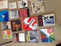 Graphic design books all in good condition£5.00 each or make an offer for the whole lot
