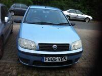 Fiat PUNTO 2005 1.3cc sky blue