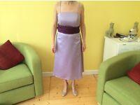 Bridesmaid/Prom Dress Lilac Size 10/12