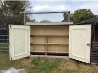 Reinforced fibreglass storage cabinet