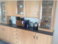 Fully fitted laminate kitchen COLLECTION ONLY