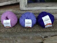 Cascade 220 Superwash pure Merino wool DK yarn lot for knitting crochet