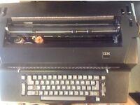 IBM GOLF BALL TYPEWRITER