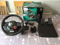 PS3 Logitech GT steering wheel